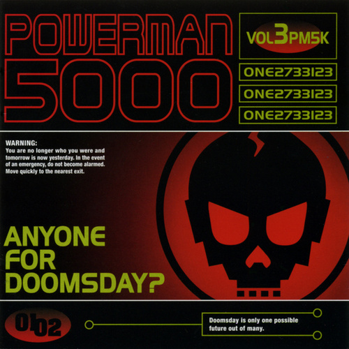 Anyone For Doomsday? by Powerman 5000