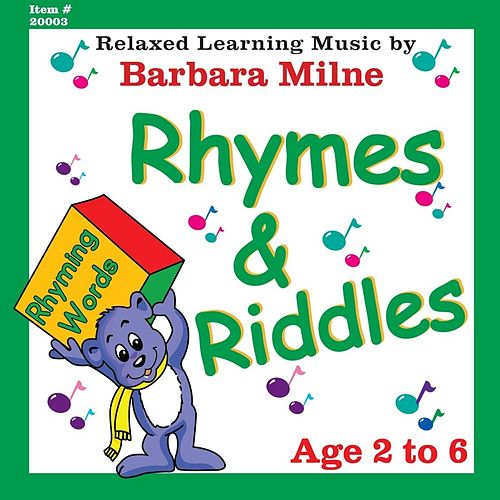 Rhymes & Riddles de Barbara Milne