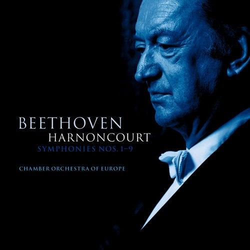 Beethoven : Symphonies Nos 1 - 9 von Nikolaus Harnoncourt