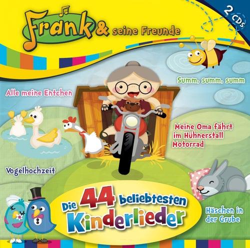 Die 44 beliebtesten Kinderlieder von Frank Und Seine Freunde (