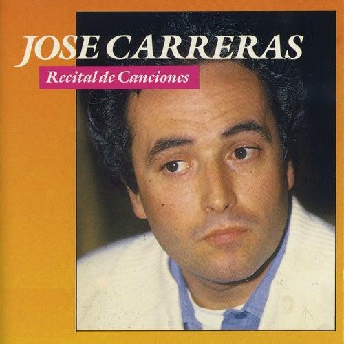 Recital de Canciones fra José Carreras
