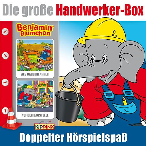 Handwerker Box (Benjamin Blümchen als Baggerfahrer & Benjamin Blümchen auf der Baustelle) von Benjamin Blümchen