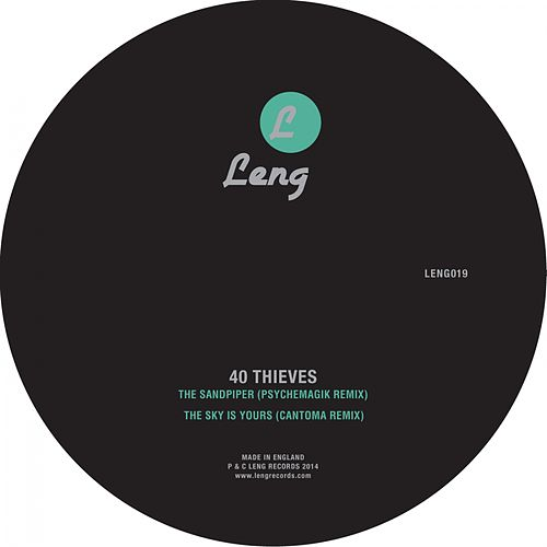 The Sandpiper / The Sky is Yours (Psychemagik / Cantoma Remixes) de 40 Thieves