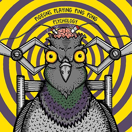 Psychology von Pigeons Playing Ping Pong
