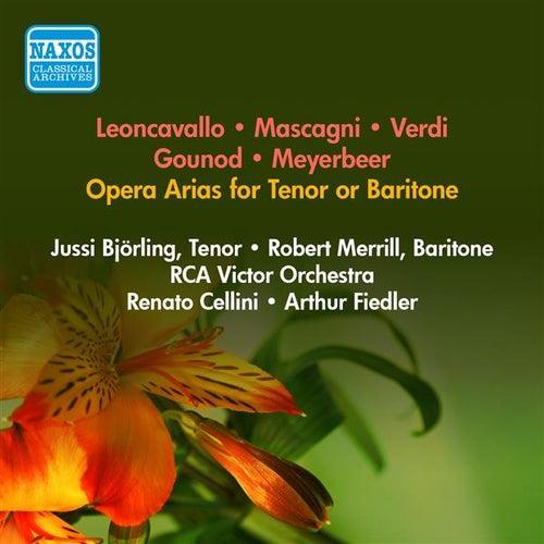 Opera Arias: Bjorling, Jussi / Merrill, Robert - Leoncavallo, R. / Gounod, C.F. / Meyerbeer, G. / Verdi, G. / Mascagni, P. (1951) von Various Artists