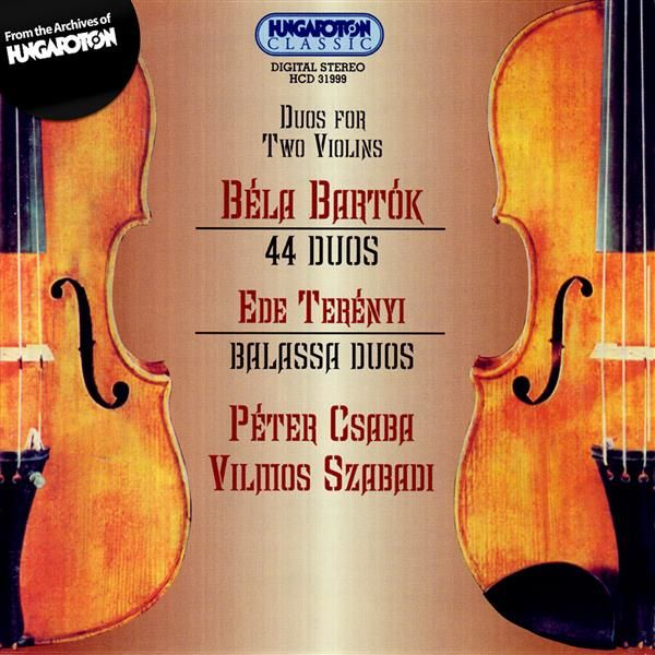 Duets Band 1 from 44 duos for two violins Bartok Bela From the 44 Duos for 2 Vi