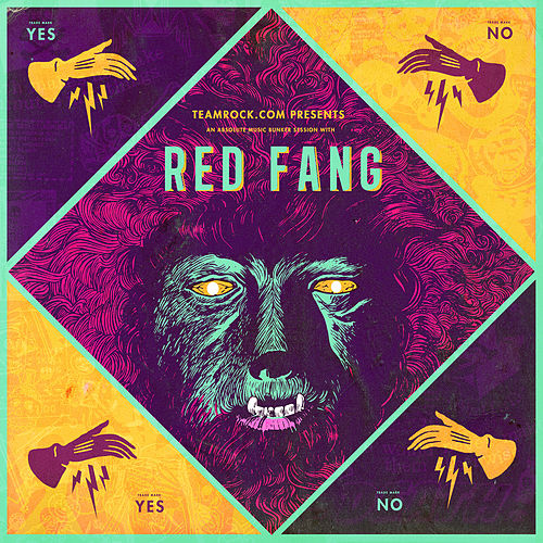 Teamrock.Com Presents an Absolute Music Bunker Session with Red Fang de Red Fang