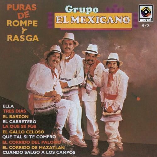 Puras De Rompope Y Rasga de Mi Banda El Mexicano
