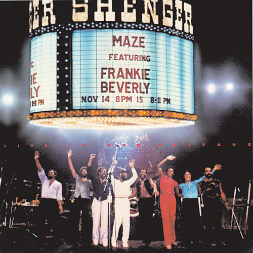 Live In New Orleans de Maze Featuring Frankie Beverly