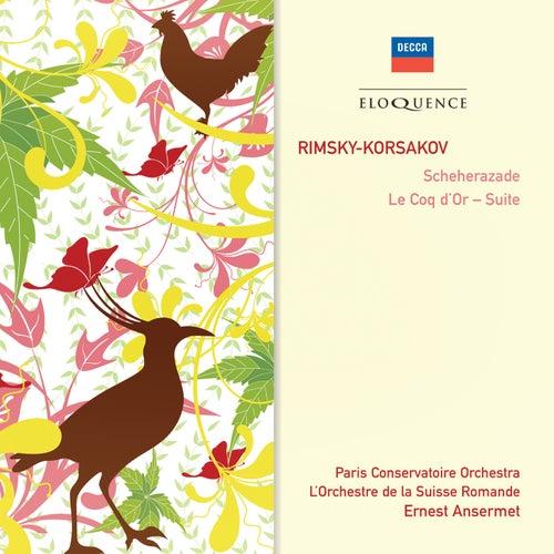 Rimsky-Korsakov: Scheherazade; Le Coq d'Or - Suite von Paris Conservatoire Orchestra