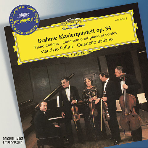 Brahms: Piano Quintet Op.34 by Maurizio Pollini