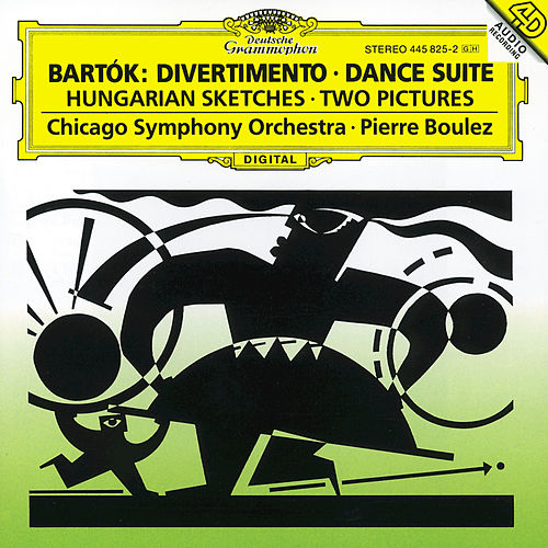 Bartók: Divertimento; Dance Suite; Two Pictures; Hungarian Sketches de Chicago Symphony Orchestra