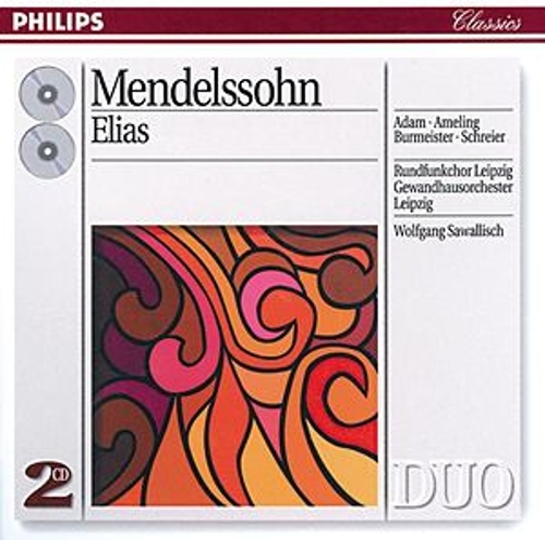 Mendelssohn: Elijah by Theo Adam