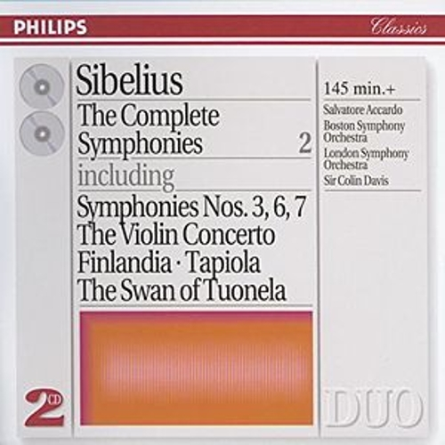 Sibelius: The Complete Symphonies, etc., Vol.2 by Salvatore Accardo