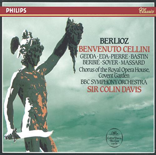 Berlioz: Benvenuto Cellini von Nicolai Gedda
