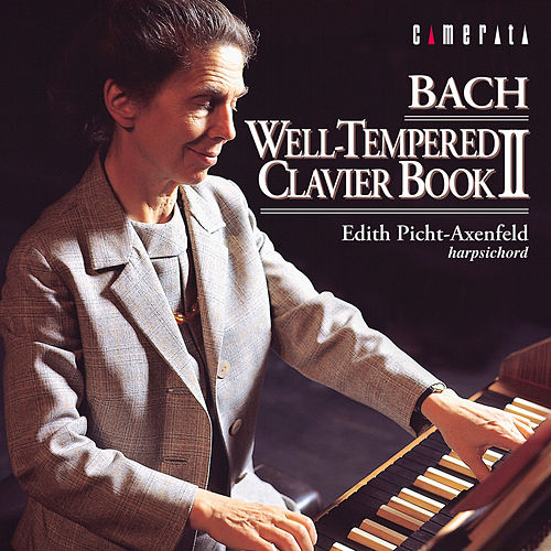 Bach: Well Tempered Clavier Book II de Edith Picht-Axenfeld