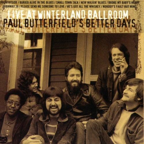 Live At Winterland Ballroom de Paul Butterfield