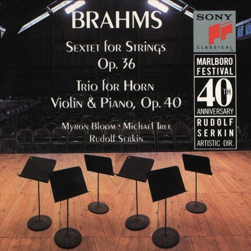 Brahms: Sextet, Op. 36; Horn Trio, Op. 40 de Marlboro Recording Society