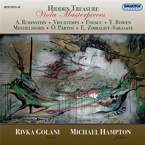 Hidden Treasure - Viola Masterpieces by Rivka Golani