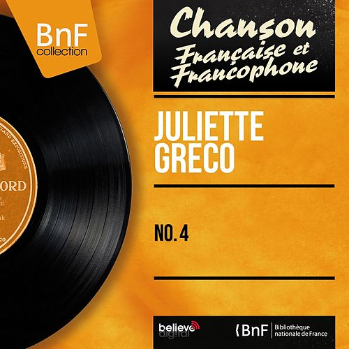 No. 4 (Mono version) de Juliette Greco