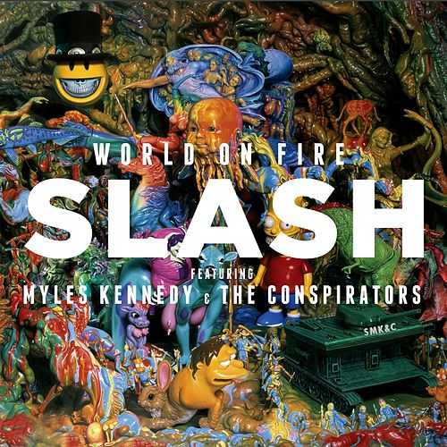 World On Fire von Slash
