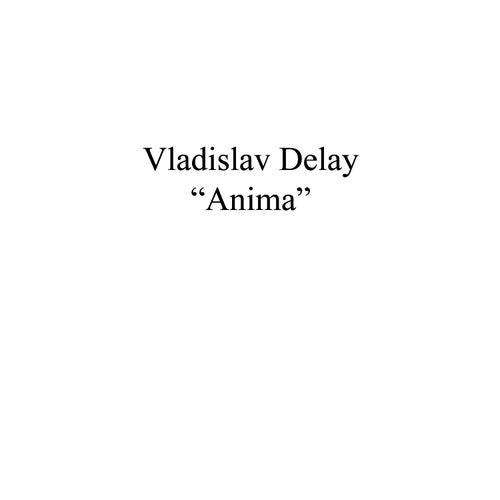 Anima de Vladislav Delay