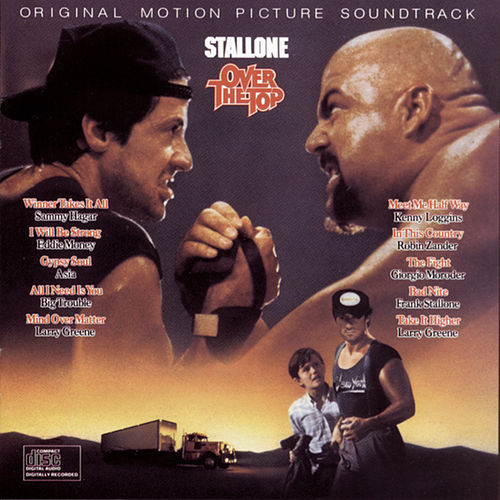 Original Motion Picture Soundtrack      OVER THE TOP van Original Motion Picture Soundtrack