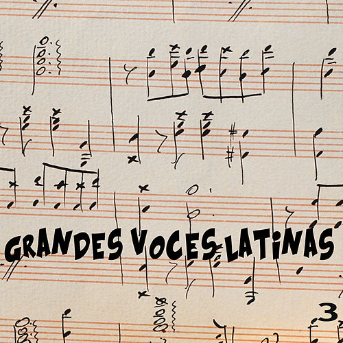 Grandes Voces Latinas Vol. 3 de Various Artists
