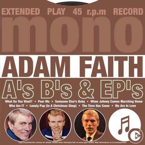 A's B's & EP's de Adam Faith