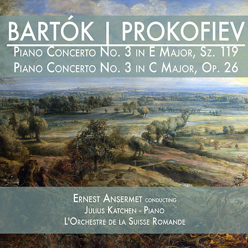 Bartók: Piano Concerto No. 3 in E Major, Sz. 119 & Prokofiev: Piano Concerto No. 3 in C Major, Op. 26 de Julius Katchen