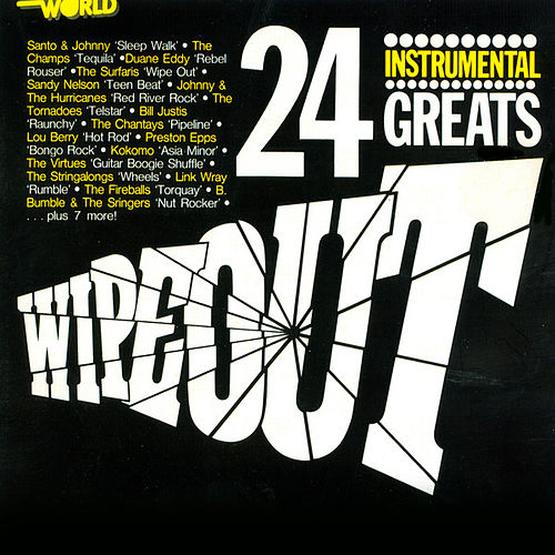 Wipeout - 24 Instrumental Greats di Various Artists