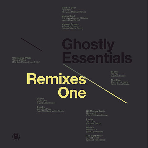 Ghostly Essentials: Remixes One de Various Artists