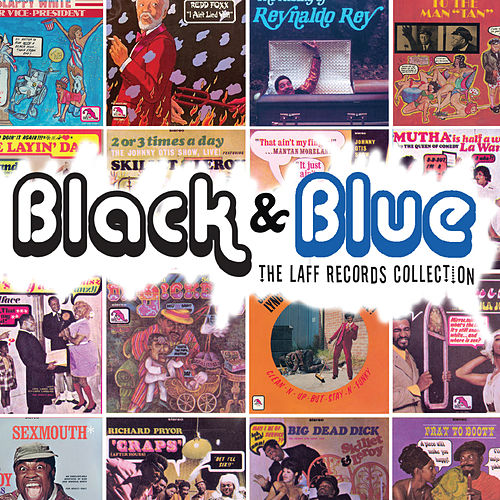 Black and Blue The Laff Records Collection by Various Artists