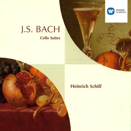Bach: Cello Suites de Heinrich Schiff