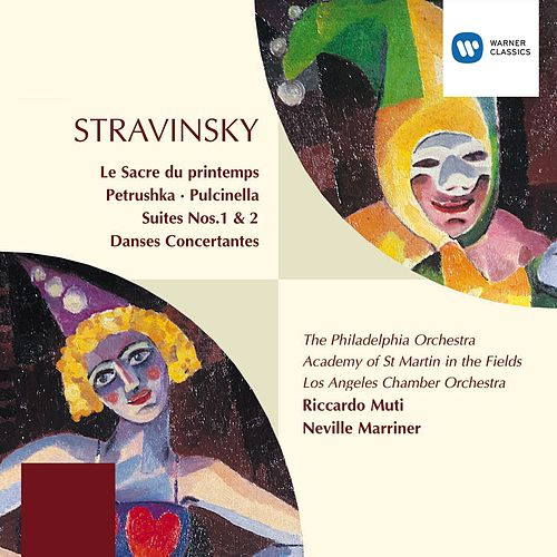 Stravinsky: Le Sacre du Printemps/Petrushka/Pulcinella/Suites/Danses by Riccardo Muti