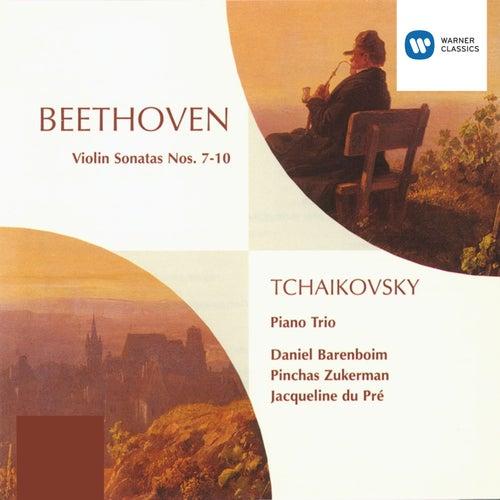 Beethoven: Violin Sonatas 7 - 10, Tchaikovsky: Piano Trio in A minor by Pinchas Zukerman