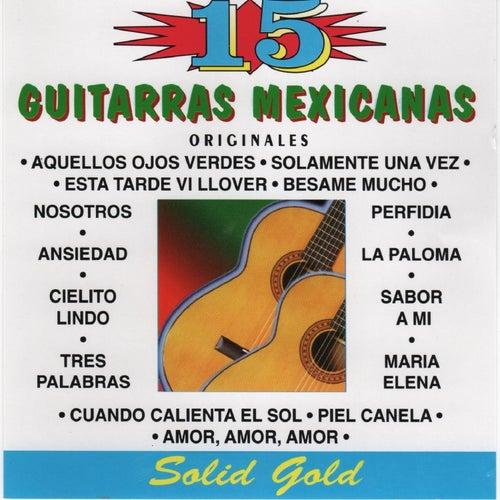 15 Guitarras Mexicanas de Chamin Madero