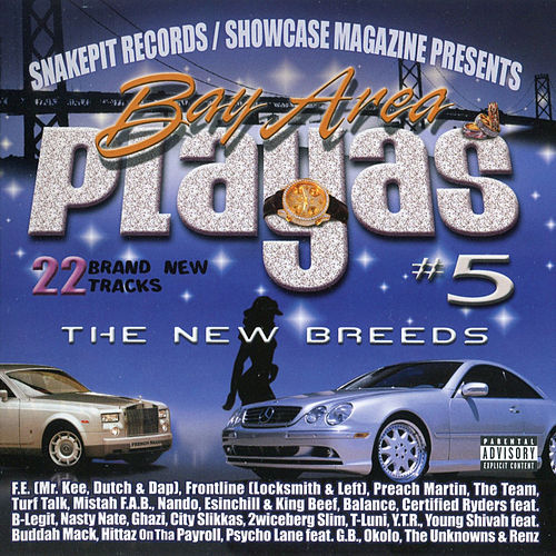 Bay Area Playas 5: The New Breeds by Various Artists