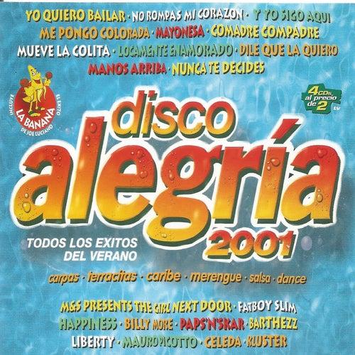 Disco Alegría 2001 von Various Artists