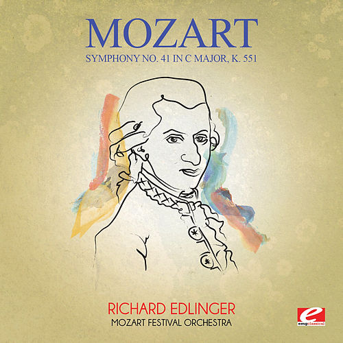 Mozart: Symphony No. 41 in C Major, K. 551 (Digitally Remastered) de Richard Edlinger