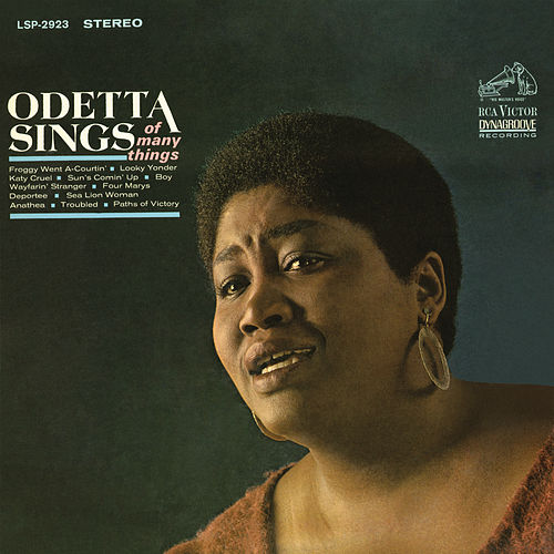 Odetta Sings of Many Things de Odetta
