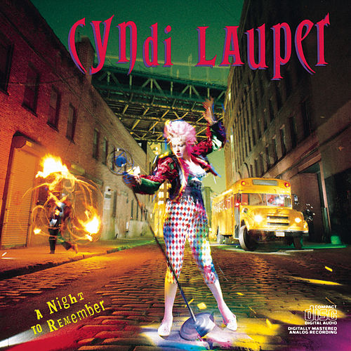 A Night To Remember de Cyndi Lauper