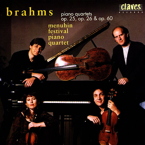 Johannes Brahms: The Three Piano Quartets by Johannes Brahms
