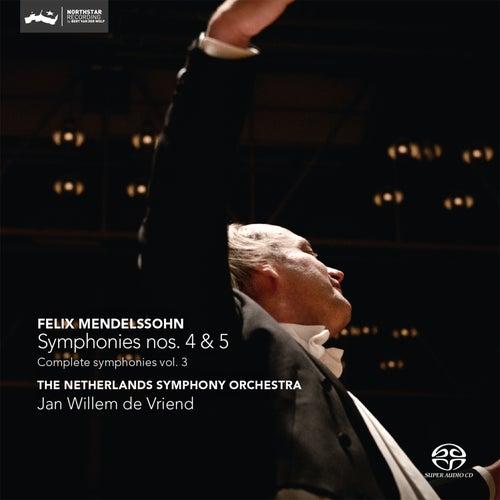 Mendelssohn: Symphonies Nos. 4 & 5 by The Netherlands Symphony Orchestra