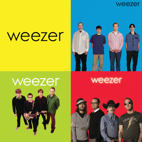 Blue/Green/Red by Weezer