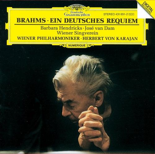 Brahms: Ein Deutsches Requiem Op.45 by Barbara Hendricks