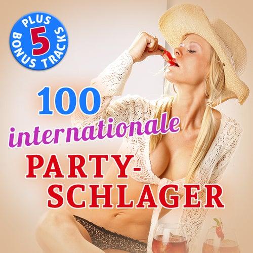 100 Internationale Party Schlager Hits (Plus 5 Bonus Tracks - Original-Aufnahmen!) de Various Artists
