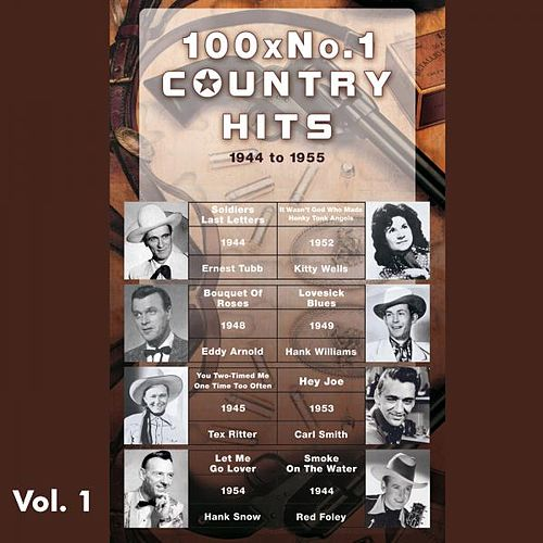 100 X No.1 Country Hits (1944 to 1955), Vol. 1 de Various Artists