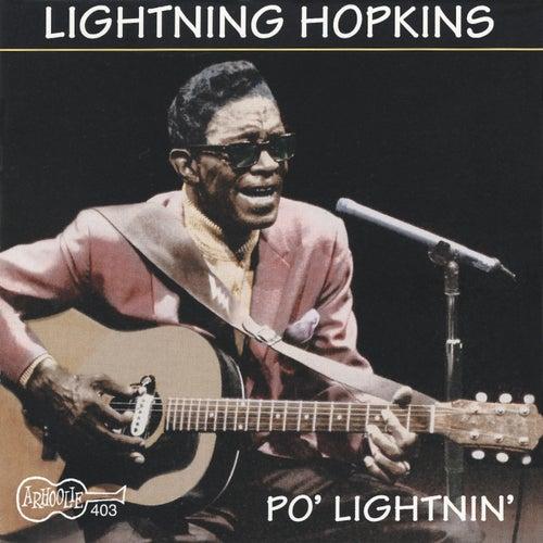 Po' Lightnin' by Lightnin' Hopkins