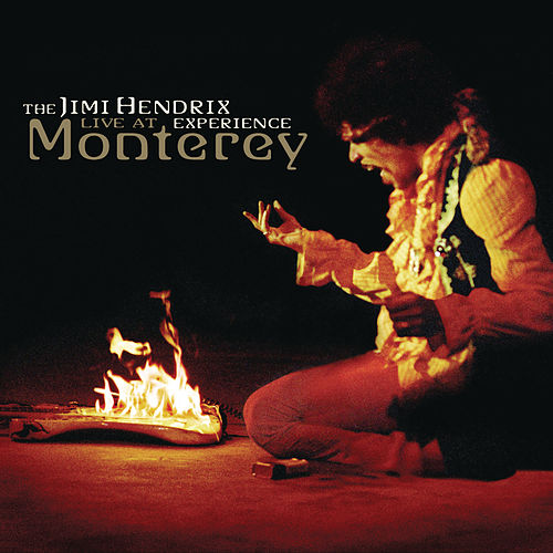 At Monterey by Jimi Hendrix